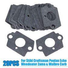 Carburetor Mounting Gasket For Stihl Craftsman Poulan Zama Walbro Kit Durable