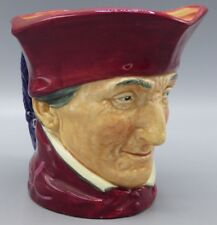 royal doulton large character toby jug the cardinal d5614 mint condition