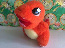 Pokemon Plush Charmander 1998 Fuzzy Doll Tomy stuffed animal figure toy go
