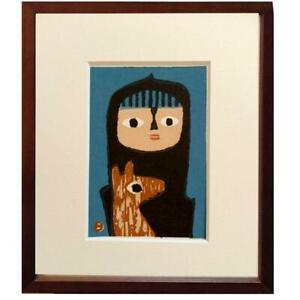 Umetaro Azechi Children and Dogs Woodblock prints by hand