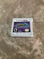 Pokemon Ultra Moon (Nintendo 3DS, 2017) Cart Only Authentic - Fast Free Shipping