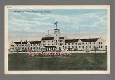 [49830] OLD POSTCARD HOLLYWOOD HOTEL in HOLLYWOOD, FLORIDA