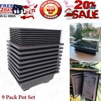 Built in Mesh 8-Inch Large Planters Made Bonsai Training Pots Humidity Trays