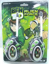 WALKIE TALKIE BEN 10 ALIEN FORCE RADIO PHONE TOY SUPERHERO CARTOON