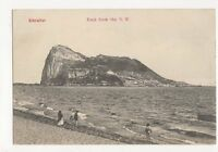 Rock From NW Gibraltar Vintage Postcard 191a