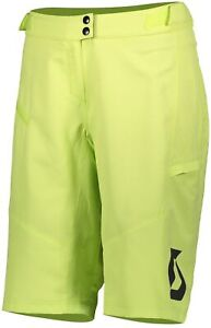 Scott Trail Vertic (With Pad) Womens Cycling Shorts - Green