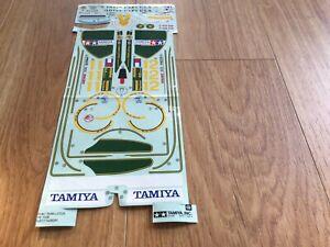Tamiya Lotus F1 Decals