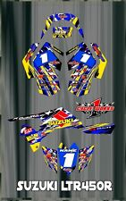 SUZUKI LTR 450 LTR450  SEMI CUSTOM GRAPHICS KIT STARS2