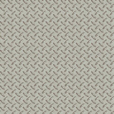 Silver Sheen Diamond Plate Metal Tread Untextured Wallpaper MAN95652 / BYR95652