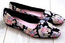 ALEXA CHUNG for M&S The York Floral Ballerina Shoes 8