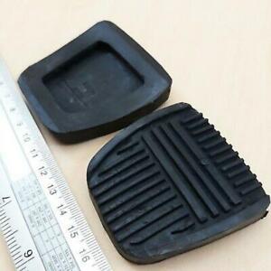 FOR Toyota Hilux LN30 LN40 4Runner/Surf Black Clutch & Brake Pedal Pad Pair