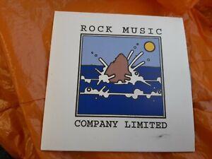 Rock music Ltd - Publishing Promo CD The Damned Lowe Gilmour Syd hawkwind Guns N