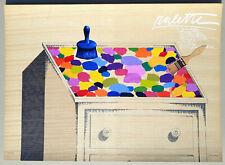 """Concetto POZZATI - """"Palette"""" - Serigrafia e collage, 50 x 70 cm"""