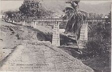 Sierra Leone Postcard. Freetown. The Railway at Saw Pitt.  Rare! Fine!    c 1903