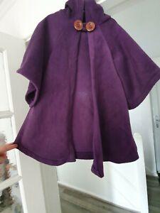 Witch/wizard Cloak 2-3/3-4/4-5yrs Purple Handmade
