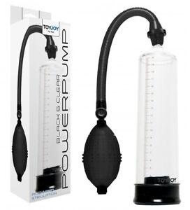 "PENIS PUMP PRESSURE POWER 9"" Developer ENLARGER Vacuum Enhancer Sex Aid"