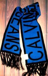 MENS CALVIN KLEIN JEANS ROYAL BLUE SCARF