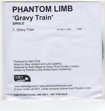 (ET369) Phantom Limb, Gravy Train - 2011 DJ CD