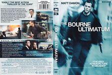 The Bourne Ultimatum (DVD, 2007, Widescreen) Julia Stiles, Matt Damon