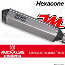Ligne complète échappement Remus Hexacone Titane BMW F 800 GS Triple Black 12-