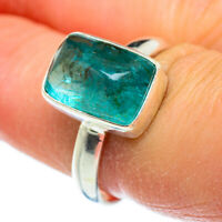 Apatite 925 Sterling Silver Ring Size 8 Ana Co Jewelry R46440F
