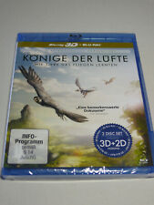 David Attenborough: Könige der Lüfte, Blueray, 2D- und 3D-Version, 2 Disks, neu