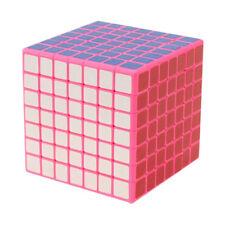 Shengshou 7x7x7 Cubo + Pegatina Cubo de Velocidad 7x7x7, 7x7x7 Cubo De Cubo-Rosa
