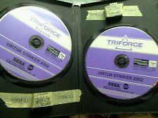Virtua striker 2002 gd-rom + marquee sega triforce jamma arcade gdrom game