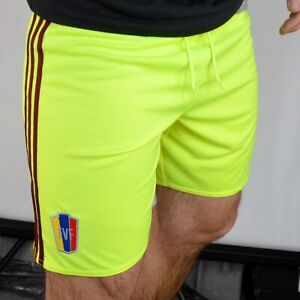Adidas Men's Sports Shorts Training Trousers Football Bermuda Running Neon