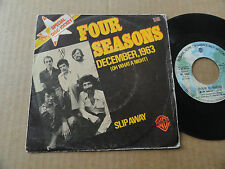 "DISQUE 45T DE FOUR SEASONS  "" DECEMBER 1963 """