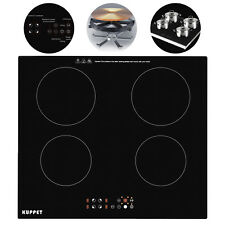 Kuppt 4 Burners Built in Induction Portable Electic Cooker Cooktop Touch Panel
