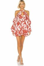 House of Harlow 1960 Harmony Dress Pink Reims Floral Small NWOT Reg $198