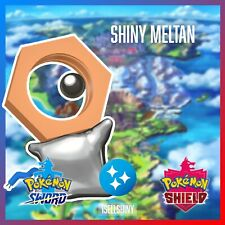 SHINY MELTAN | NEW DLC CROWN TUNDRA POKEMON SWORD & SHIELD