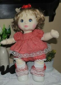 1985 Mattel My Child Blonde Hair Blue Eyed Girl~ Fully Dressed With Shoes~