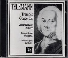 "BOUGHTON ""TELEMANN: TRUMPET CONCERTOS"" CD 1991 mhs sealed"