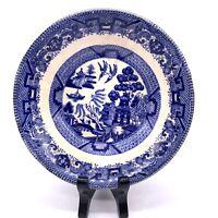 "Buffalo Pottery Blue Willow Semi-Vitreous Bowl 1909- 6""approx"