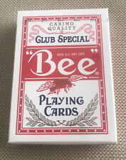 Sealed New Rarest Wynn Bee Casino Standard Index Playing Cards Red Poker