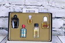 Lot of 5 Mini Perfumes Maja Lanvin Arpege Eau de Gucci Pavlova No4711  In Box