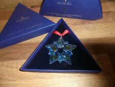 Swarovski 25th Anniversary  Snowflake  Ornament, By Mariah Carey,  No 5543287