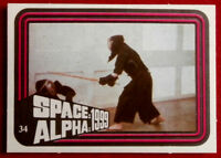 SPACE / ALPHA 1999 - MONTY GUM - Card #34 - Netherlands 1978