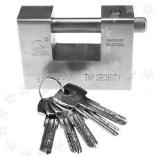 Top Security Shipping Container Garage Trailer Padlock Heavy Duty with 5 Keys