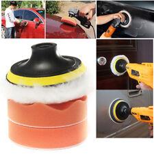 """4pcs 4"""" Car Compound Drill Polishing Polish Buffer Buffing Cleaning Wax Pads set"""