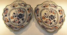 Rare Antique Platter Pair - pre-1850 -  Clementson Bros or J & R Riley, Formosa
