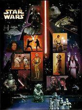 STAR WARS US 2007 Scott #4143 CHARACTERS Set of 15 MINT NH F-VF 41c Stamp Sheet