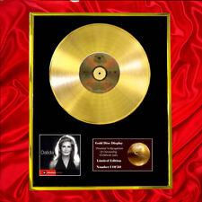 DALIDA MASTER SERIE  CD GOLD DISC RECORD LP FREE P&P!