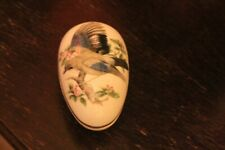 "Coalport ""The Jay"" Porcelain Egg"
