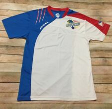fbc58433c Muzang Jersey Philippines National Mens Futsal Team Accel RARE Small Blue  Soccer