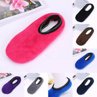 Women Men's Winter Warm Home Thicken House Bed Sock Non Slip Slipper Floor Socks