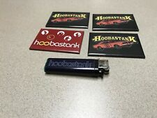 4 Hoobastank Rock Band Car Magnet & Disposable Lighter