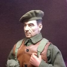 Banjoman 1:6 escala Custom Segunda Guerra Mundial Ejército Británico Gorra de servicio general de color caqui